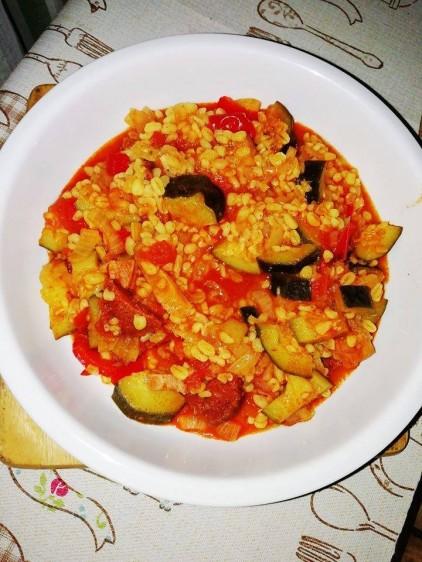 Recept: cukkinis lecsó
