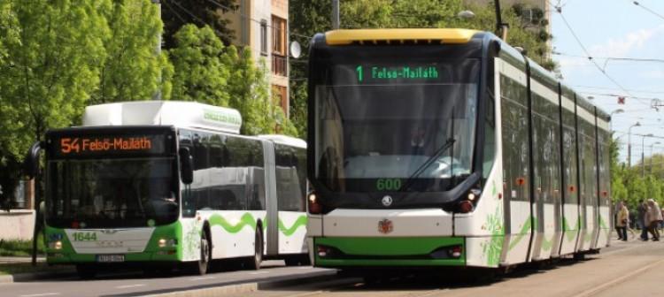 Sűrűbben fognak közlekedni a miskolci buszok, villamosok