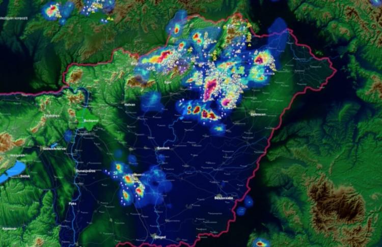 Viharkárok az egész megyében: főleg Miskolcon és Abaújban