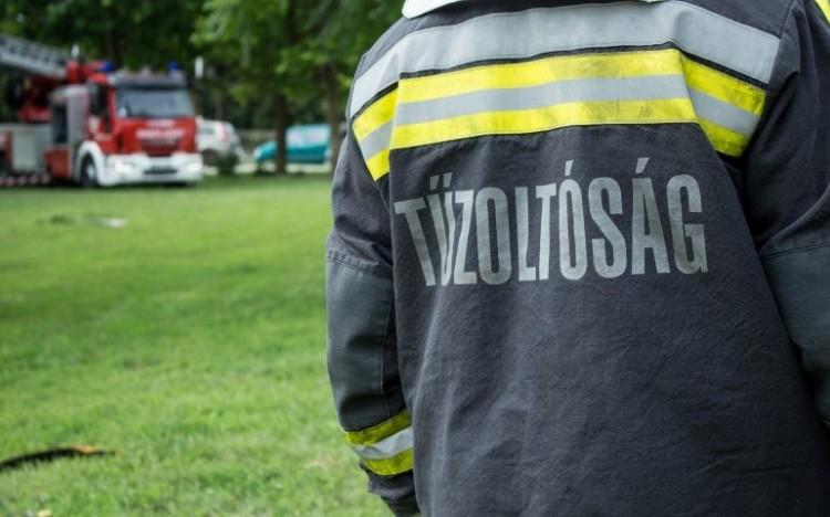 Tűz ütött ki egy miskolci kazánházban