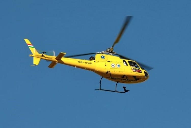 Halálos baleset: hiába érkezett a mentőhelikopter Kázsmárkra