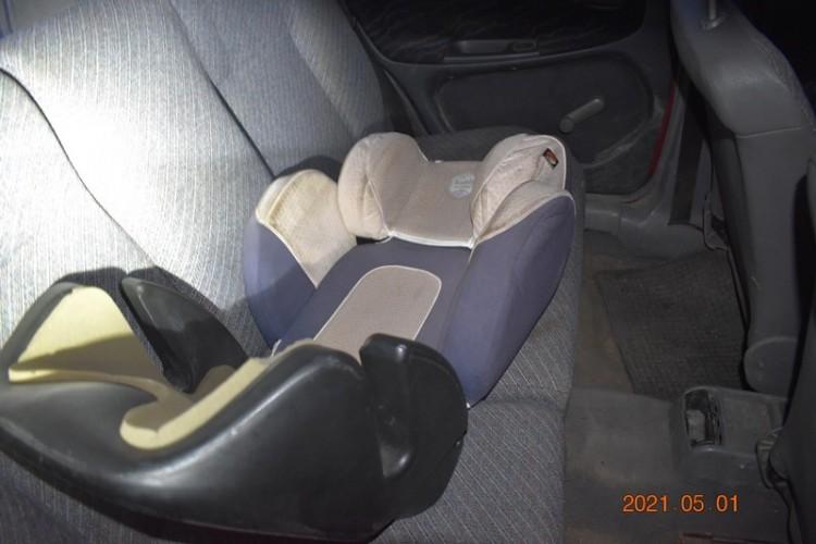 Hátul ülő gyerekkel együtt lopott autót egy borsodi férfi