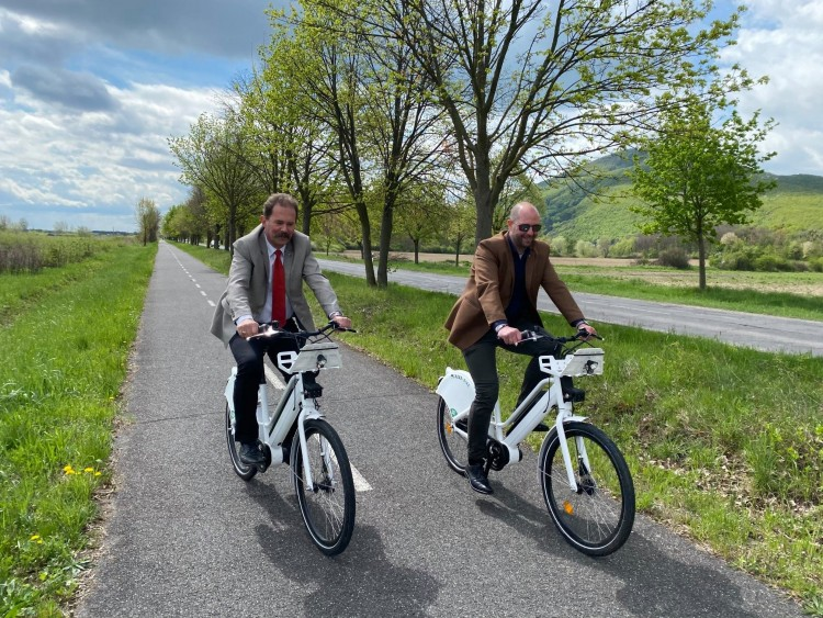 Elektromos biciklikkel lehet majd közlekedni Sátoraljaújhelyen