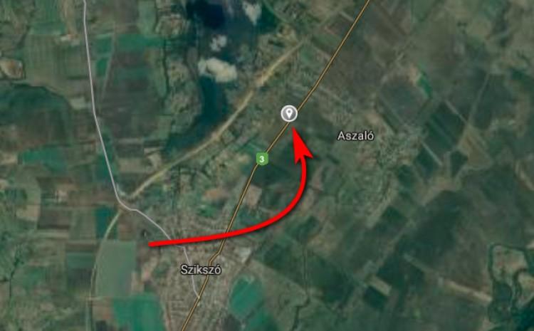 Frontális karambol Aszaló közelében – FRISSÍTVE