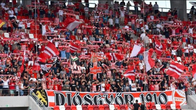 Kemény szurkolói üzenet a Diósgyőr futballistáinak
