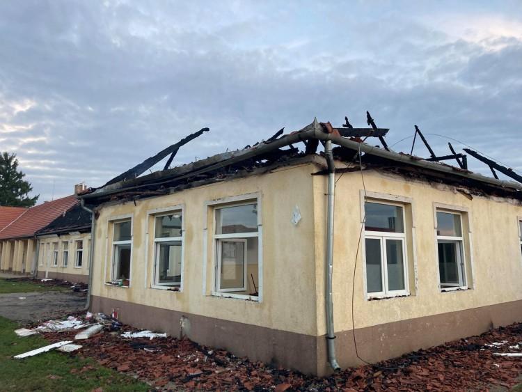 Rövidzárlat okozhatta a tüzet az encsi iskolában