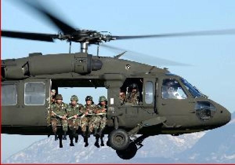 Kimentették a lezuhant helikopter utasait