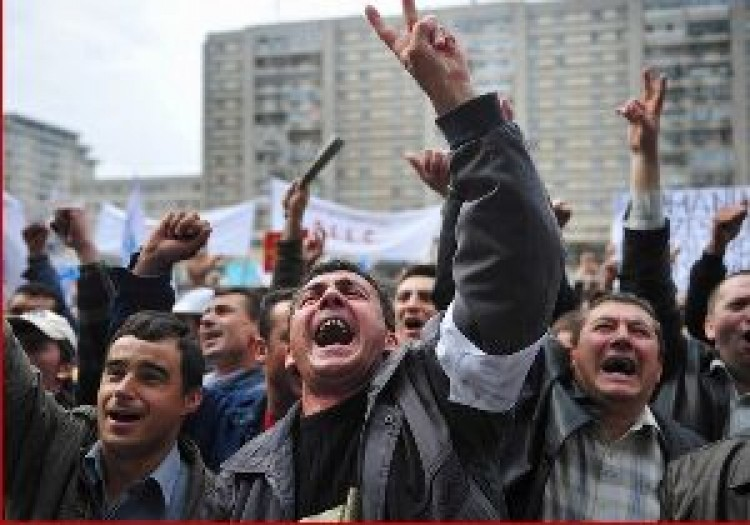 Románia sztrájközöne