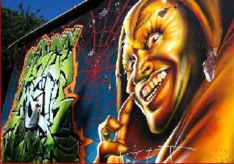 Elkapták a graffitiseket