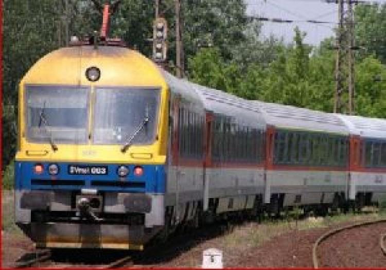 Kamaszos vonatrablás