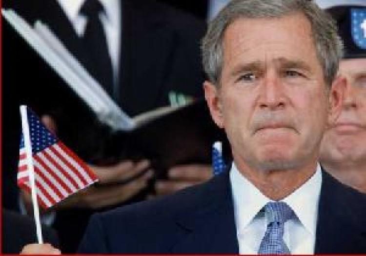 Bush nagyon bánja