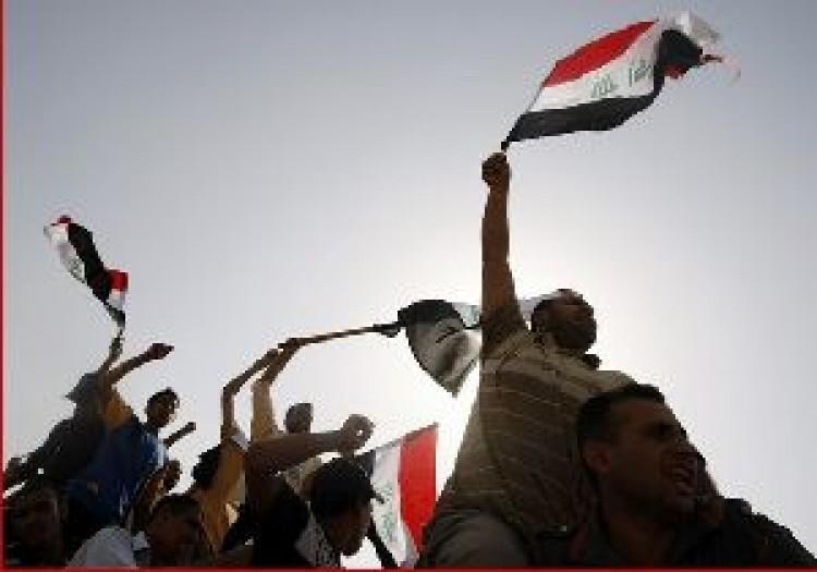 Többezer tüntető Bagdadban