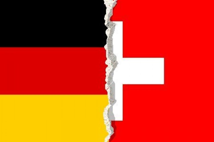 Svájc és Németország civakodása