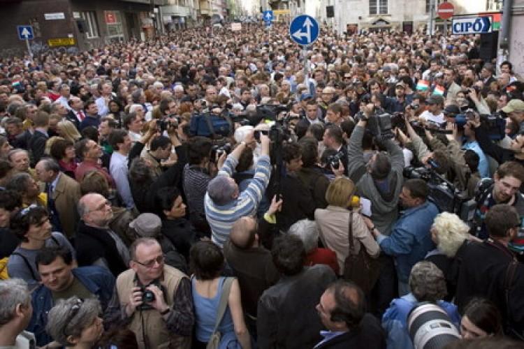 Tüntetnek Budapesten