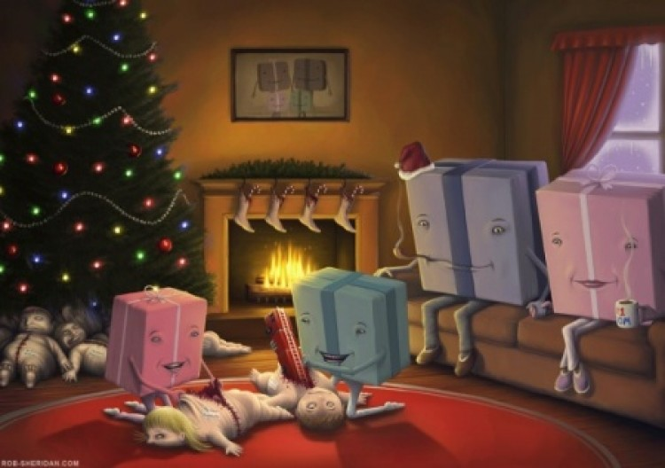 A karácsonyfa alá
