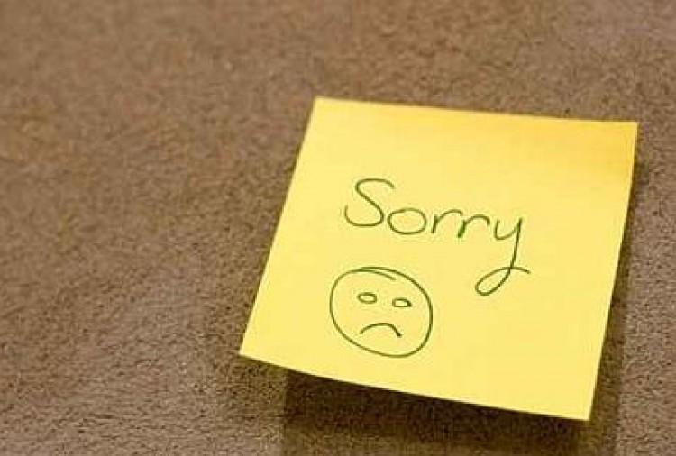 Kérj bocsánatot mindenki előtt!