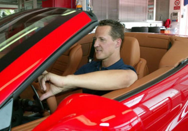 Így reklámozza Schumacher a Mercedest!