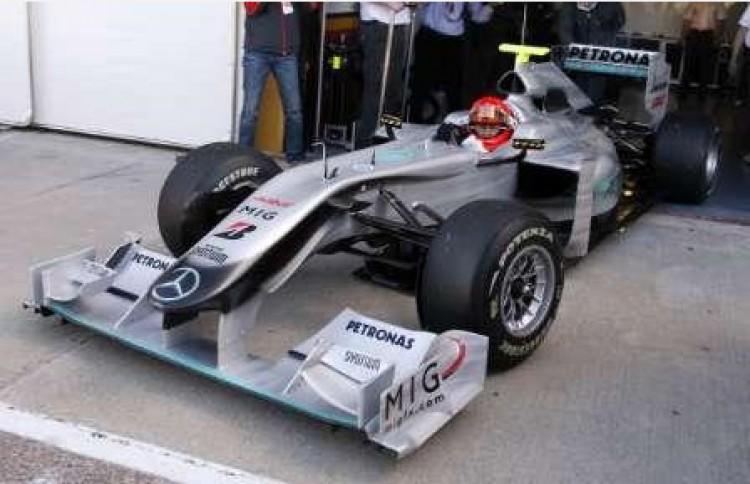 Schumacher úgy élvezte, mint 1991-ben
