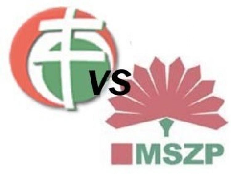 Fej fej mellett küzd a második helyért a Jobbik és az MSZP