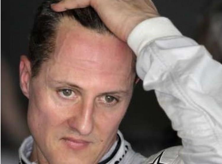 Schumachert megvédték, mert rászorult