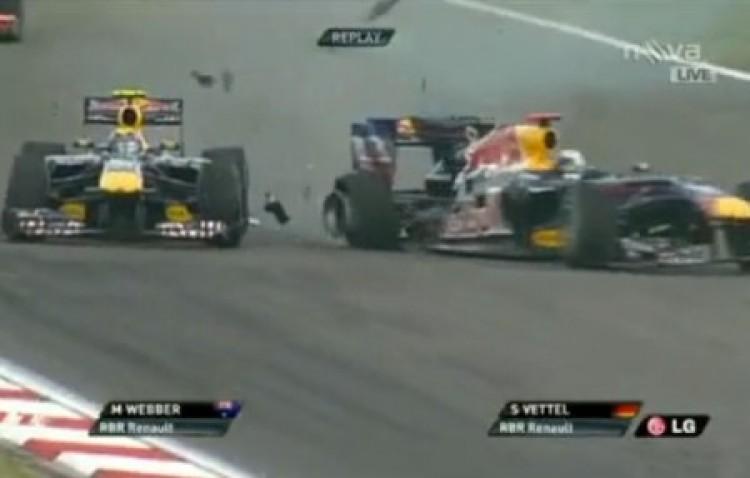 Vettel szerint Webber hibázott