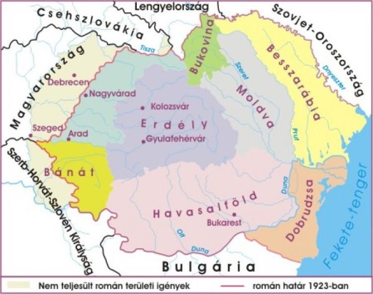 Magyarul Románia történelmét és földrajzát!
