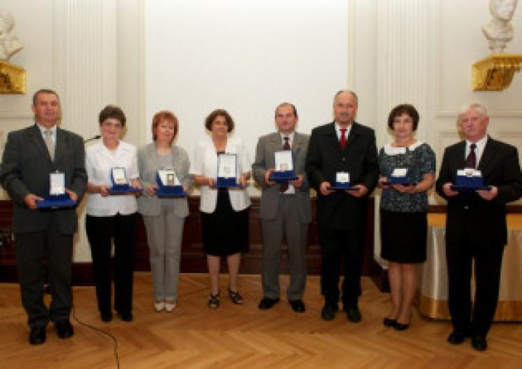Ericsson-díjat kapott a debreceni fizikatanár