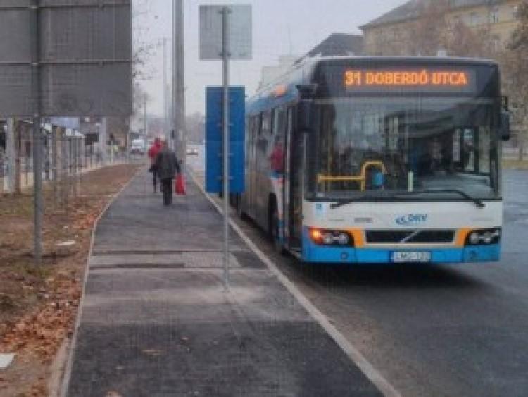 Elbúcsúztatják Debrecenben a 31-es buszt!