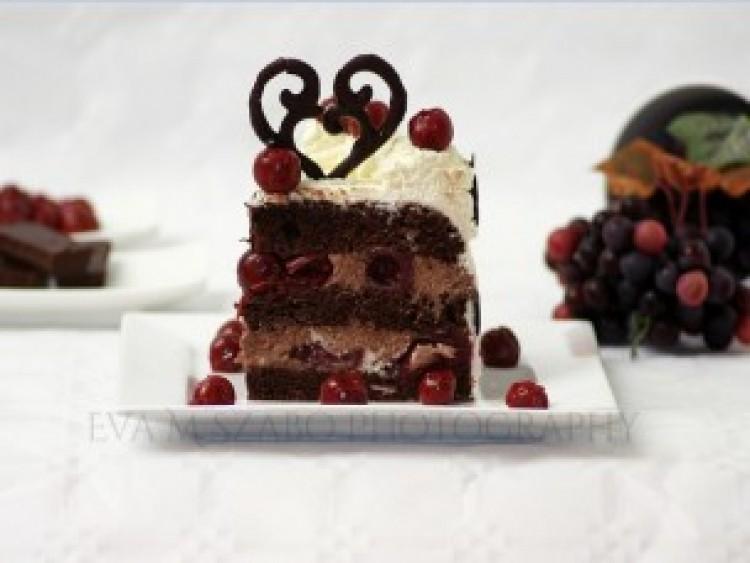 Ide süss! Diétás Fekete-erdő torta