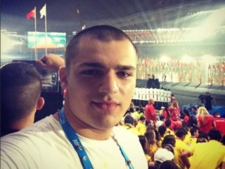 Debreceni szelfi az olimpiai megnyitóról