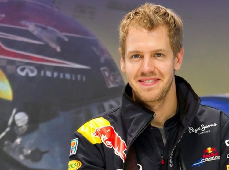 Vettel, a maláj tigris
