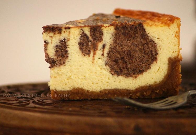 Ide süss! Csokis-mandulás sajttorta