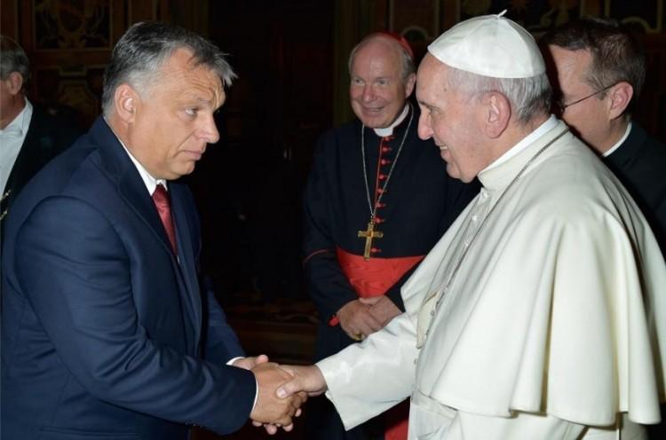 Őszentségénél járt Orbán Viktor