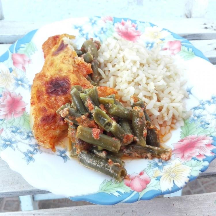 Recept: hal egészséges körettel