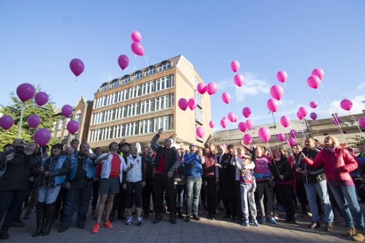 A belvárosban futottak a rák ellen