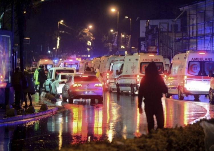 Merénylet Törökországban: 39 halott