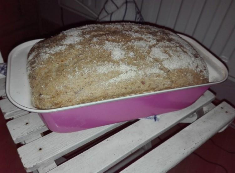 Recept: házi kenyér tepsiben