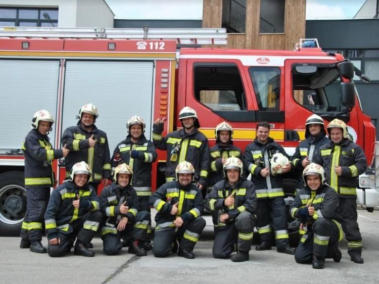 Nagy lájkot küldenek a toldiaknak a tűzoltók