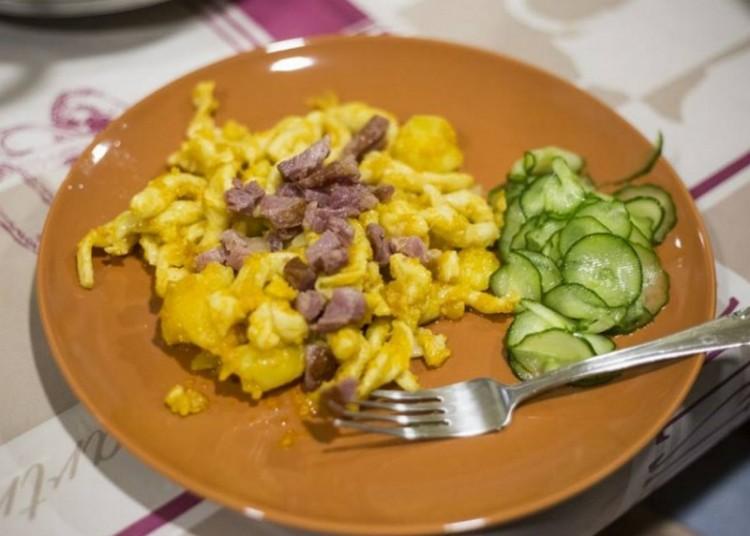 Recept: hasgatott krumplis galuska