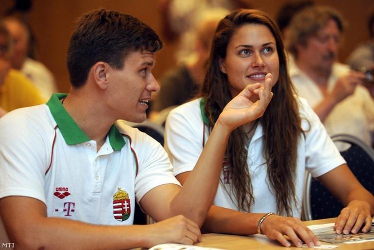 Edzője a szerelme a legszebb magyar úszónőnek