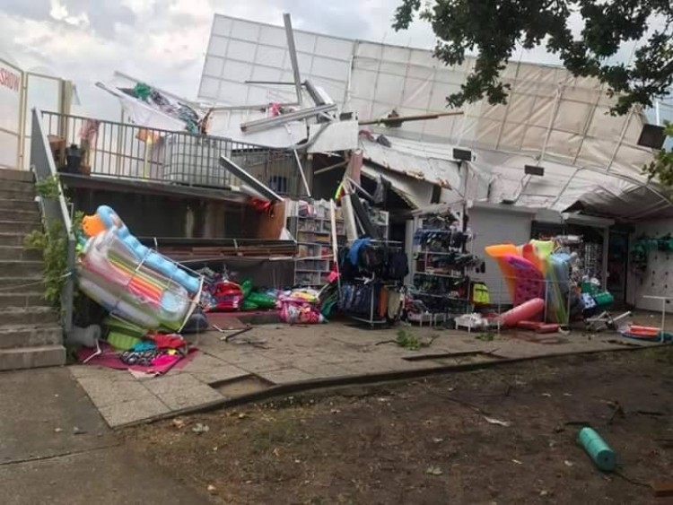 Fotók: kegyetlen vihar csapott le Szoboszlóra