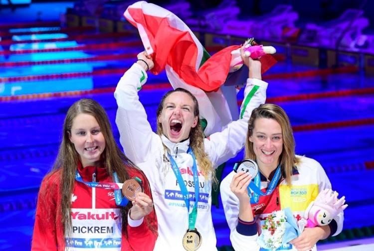 Hosszú Katinka világcsúccsal nyert!