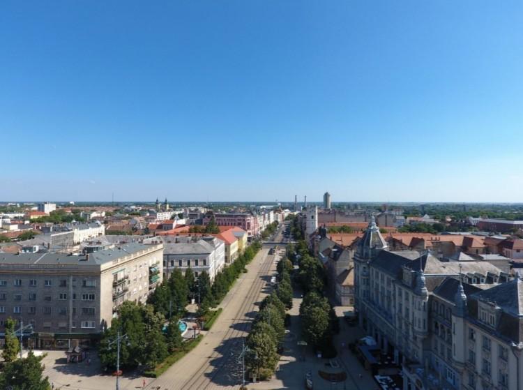 A tíz legnépszerűbb település között van Debrecen