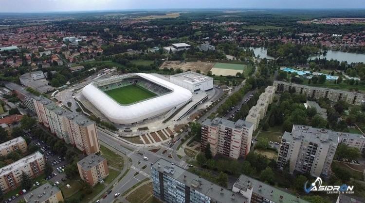 Újabb európai stadionnal gazdagodott Magyarországon