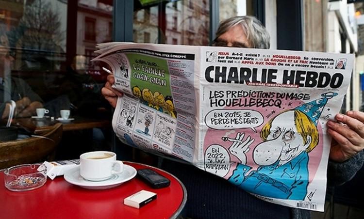 Újabb karikatúrájuk miatt fenyegetik a francia lapot