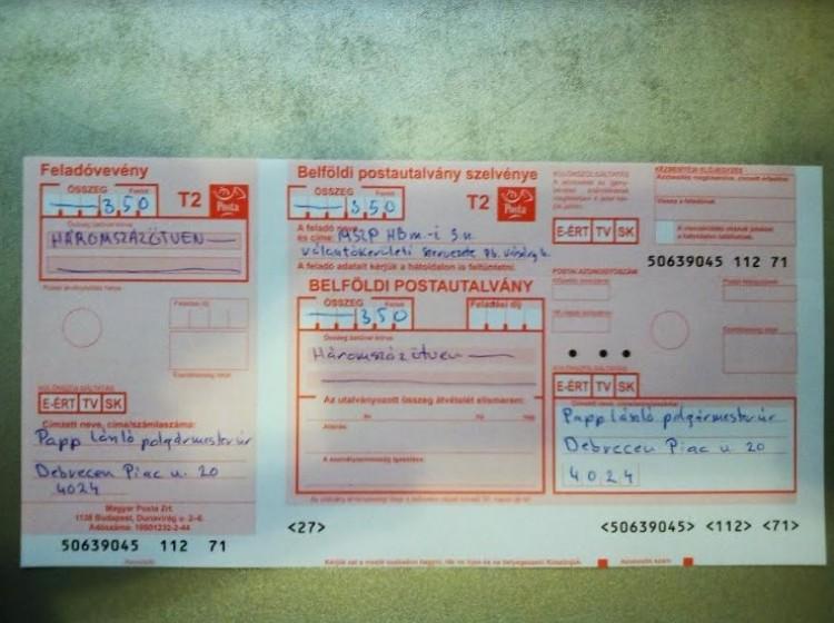 Az MSZP befizette a töltöttkáposzta-adót a polgármesternek