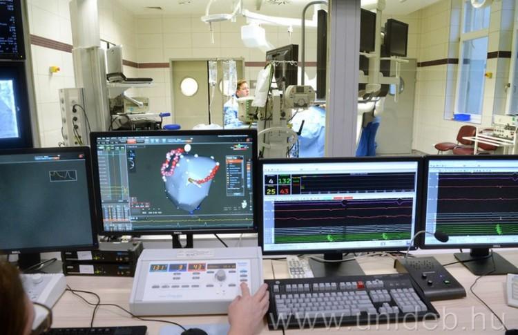 Élvonalban a debreceni szívgyógyászat