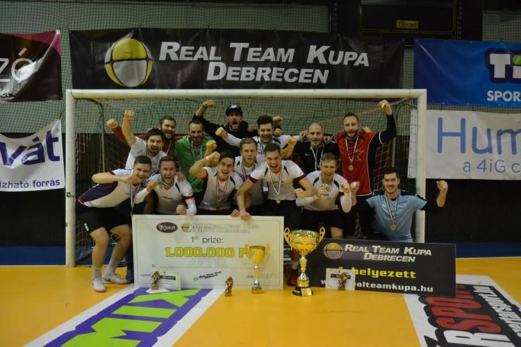A fővárosba került a Real Team-kupa