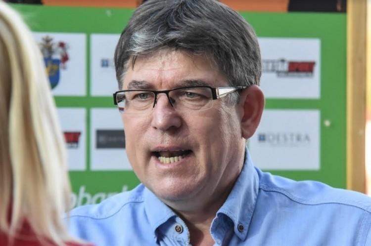 Herczeg András az ősz edzője
