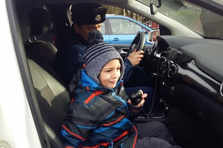 Balmazújvárosi rendőrök váltották valóra Benedek álmát